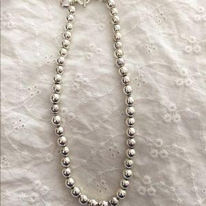 Lauren-Ralph Lauren silver necklace